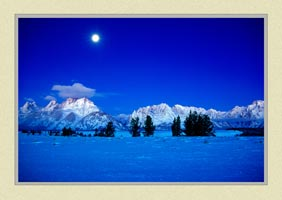 Teton Range - Grand Teton National Park - Landscape Photo for sale by ISO50Photo.com