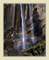 Vernal Fall - Yosemite National Park - Landscape Photo for sale by ISO50Photo.com</br>