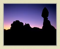 Balanced Rock - Arches National Park - Landscape Photo for sale by ISO50Photo.com